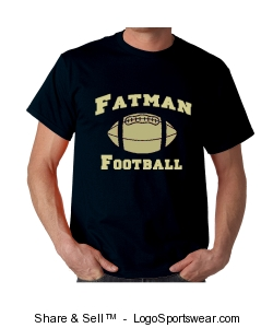 Fatman Football Official Tee Design Zoom